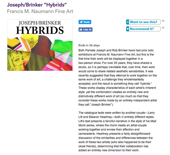 NY Art Beat Article